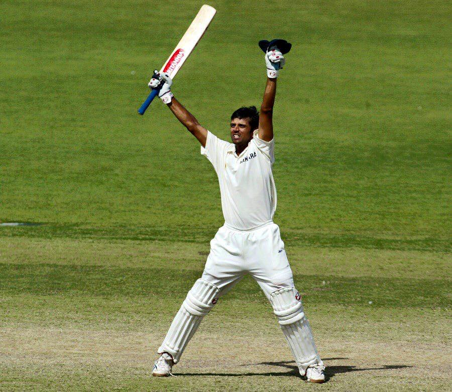 Rahul Dravid Lost His cool
