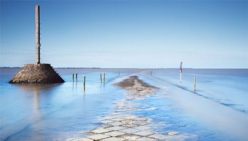 places which disappear during high tide