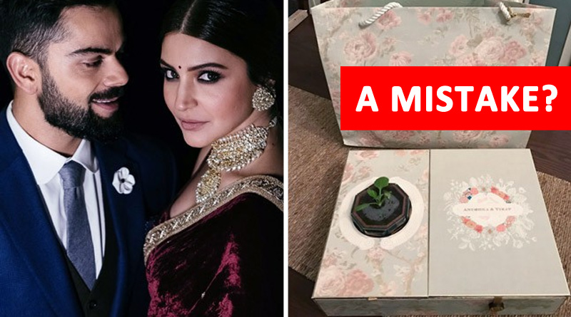 Virat-Anushka Got Trolled For A Mistake In Their Wedding Reception Card